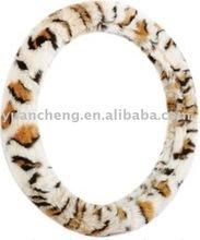 fur steering wheel cover