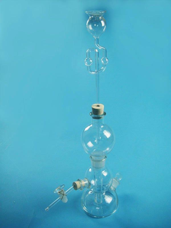 Equipo de laboratorio/kipp's aparato/química del equipo