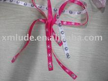 satin ribbon bracelet