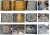 school of fish pool mosaics