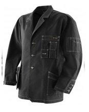 Fashionable heavy duty craftsman's work jacket