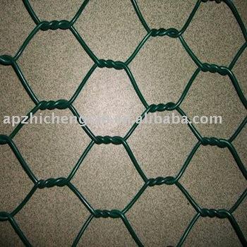 hexagonal wire mesh rabbit house