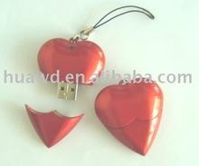 [valentine gift]hot heart shape usb flash memory