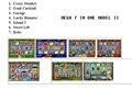 7 birinde Mega kırmızı kartı-için oyun tahtası casino oyun makinesi