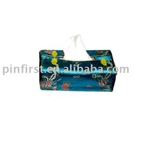 Chinese Traditional Silk Tissue Paper Holder New