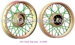 125-2 Rear Rim Assy.