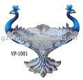 Vaso de decoração: amor estilo pavão