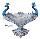 decoration vase:love peacock style
