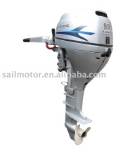 Electric start and tiller control 4-stroke 9.9HP Outboard motor
