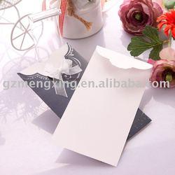 royal wedding cards/handmade invitations/paper draft/wedding decorate/christmas card/birthday card -- T016