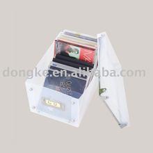 sell Latest transprent cd storage,dvd storage