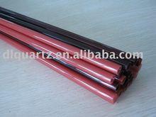 pink red quartz tube