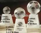 clear color sandblasting soccer ball MH-Q0012