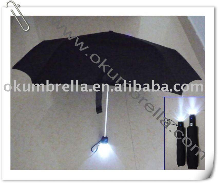 ShopBMWUSA.com: BMW Umbrella with LED Flashlight
