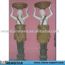 marble statue carving