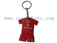 soft pvc key holder(pvc key chains pvc keyring)