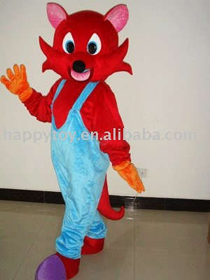 2010 HI 516 Red Fox adult costume Provided by Muscle Hunks >>>
