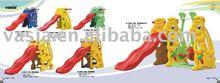 Kids' plastic slide structure(VS705)