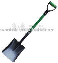 Shovel with fiberglass handle