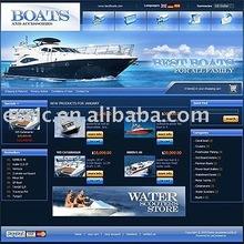 Low Cost Boats E-commerce Website Design Service