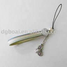 Fantasy alloy pendant mobile phone strap