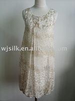 silk clothing/silk dress/silk fashion