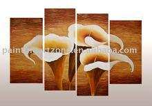 Original flower group oil painting