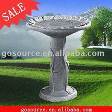 Granite Garden Birdbath