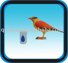 Promotional Gift Hand Painted Lovely Bird Doorbell with Beautiful Bird Singing Sound