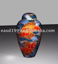 Cloisonne cremation urn (No.P660)