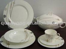Bone china or Porcelain or Ceramic Dinner Plate