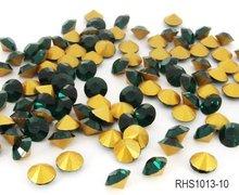 Rhinestone Glass Chaton Beads