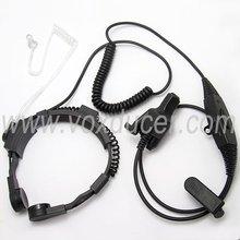 volume controller/Throat Vibration Earphone /interphone accessories/with online ptt button