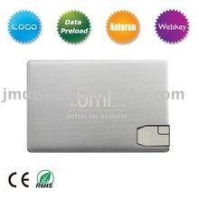 2GB,4GB,8GB OEM Credit Card Usb Flash Memory,Goog Quolity And Low Price Free Logo Print