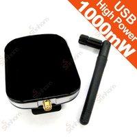 Black Gem 54M High Power 500mW USB Wireless WIFI 11g Wlan Adapter