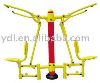 ejercicio al aire libre equipos