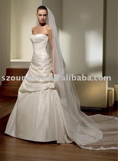 Classic Love Goddess Wedding Dress J0636
