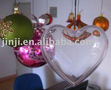 Transparent Christmas ornament