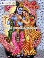 lenticular india god printing