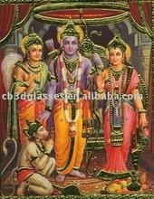 lenticular sheet india god printing