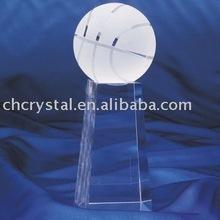 basketball crystal gift