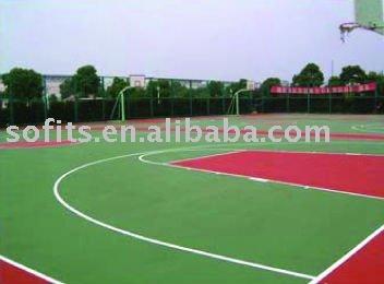 Removable Basketball Floor,PVC Sports Flooring For Basketball Court