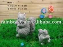 Squirrels decoration