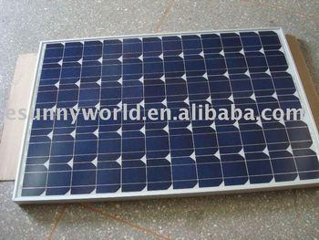 100W mono solar module