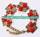 Fashion turquoise&diamond bracelet