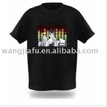 led programming message t-shirt