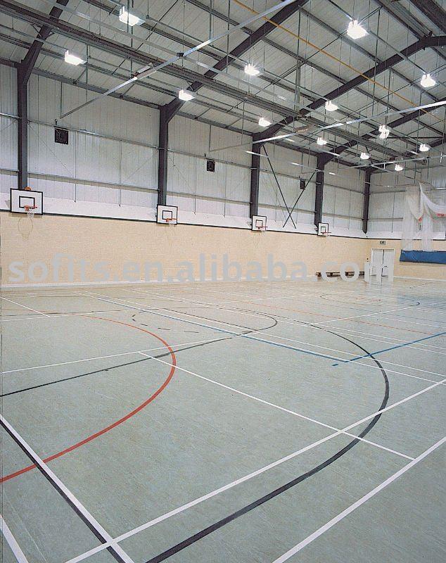 Indoor Basketball Court Flooring Doors