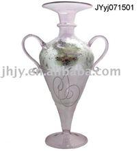art glass vase JYjy071501