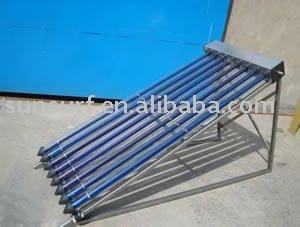 Líquido anticongelante a presión tubo de calor solar caliente colector de agua del colector ( sistema de calefacción )