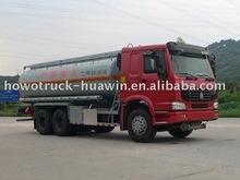 howo 6*4 chemical tank truck
